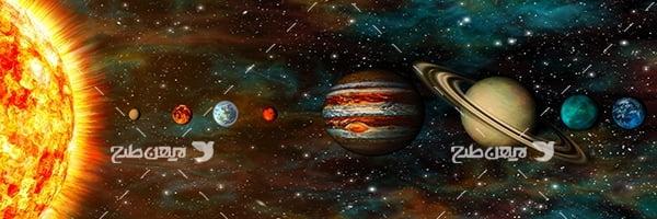 عکس فضا وسیارات