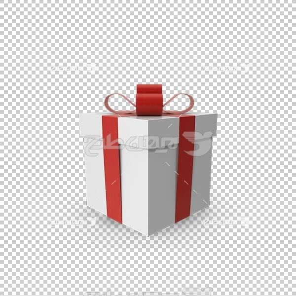 تصویر سه بعدی دوربری جعبه کادو