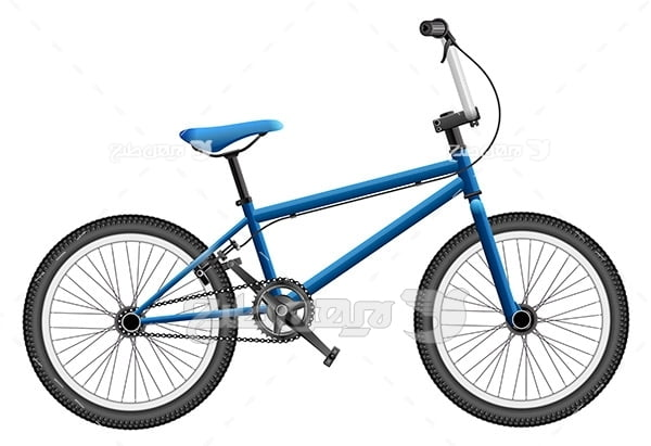طرح وکتور ورزشی دوچرخه