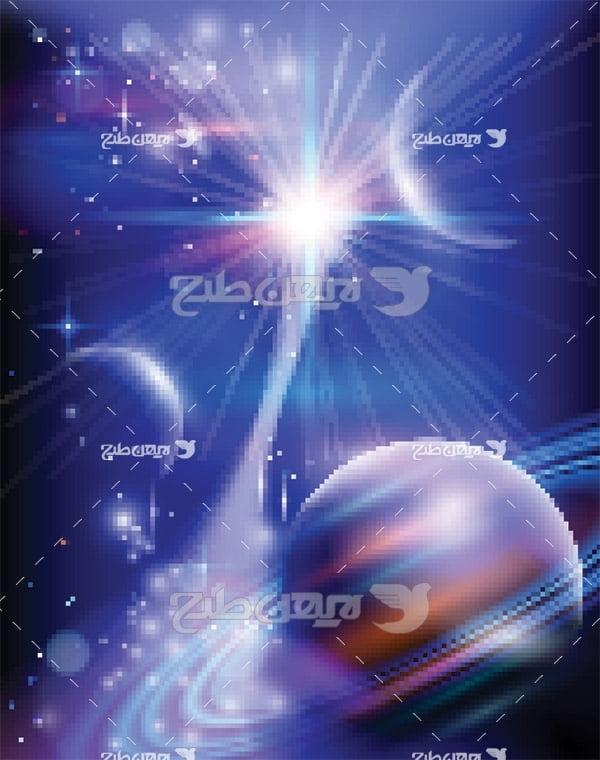 وکتور فضایی