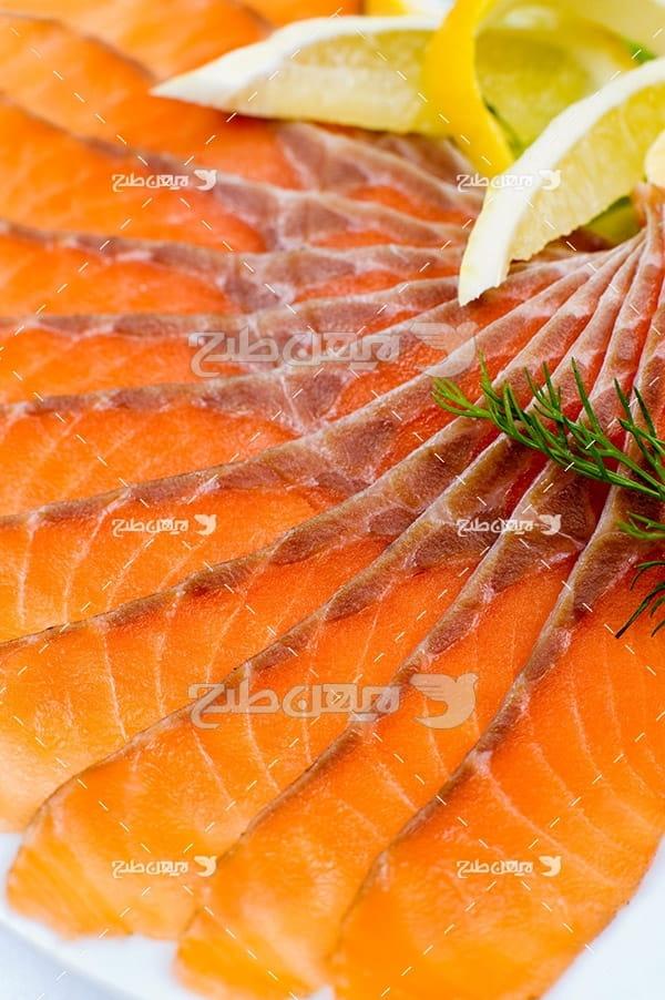 عکس ماهی گوشت ماهی بریده شده