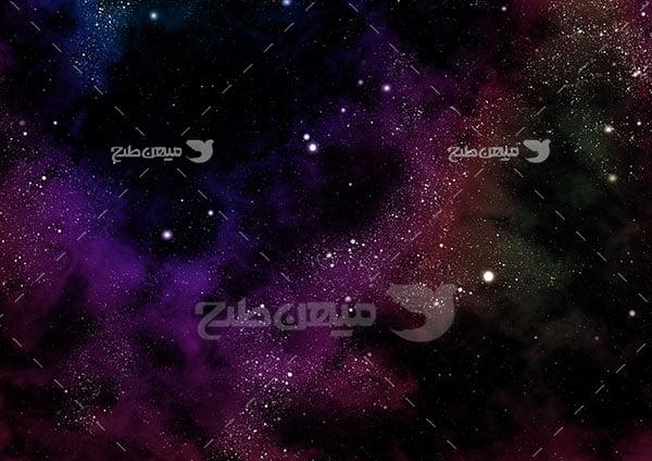 عکس کهکشان و فضا