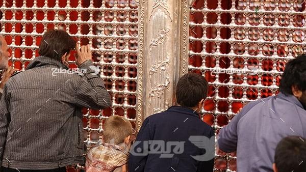 عکس از ضریح امامین عسکریین(ع)
