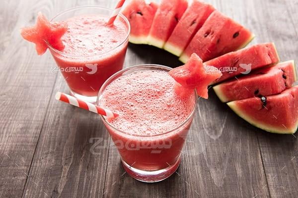 عکس نوشیدنی هندوانه