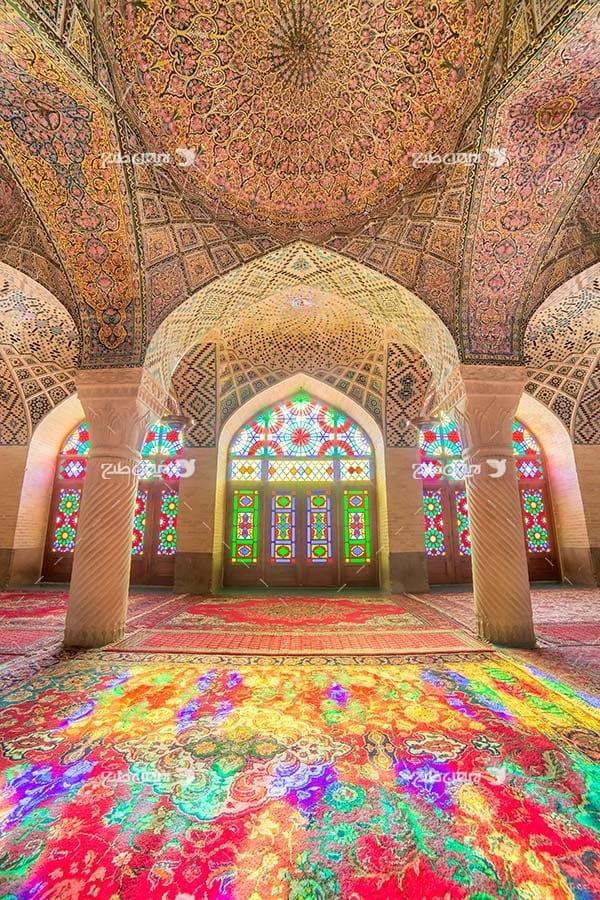 تصویر با کیفیت از مسجد نصیر الملک