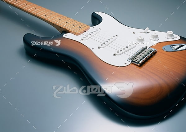 تصویر موسیقی گیتار راک