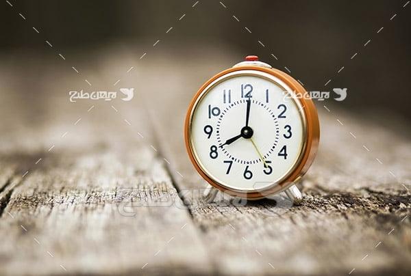 عکس ساعت رومیزی