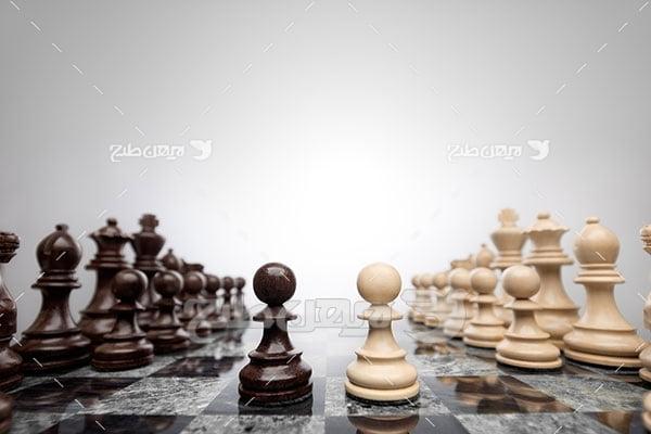 عکس ورزشی بازی شترنج