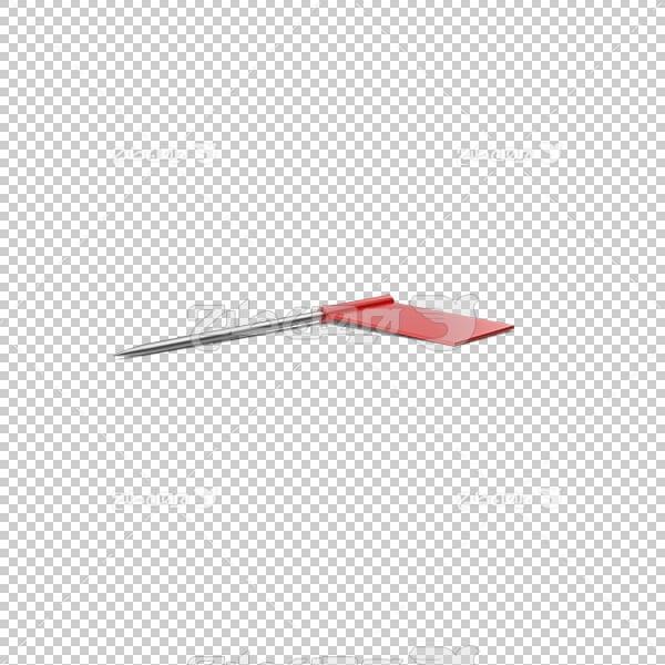 تصویر سه بعدی دوربری علامت فشار پین