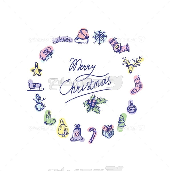 آیکن کریسمس و زمستان