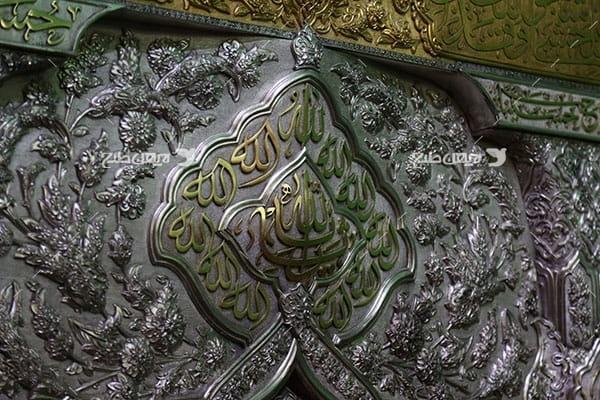 تصویر با کیفیت از منبد کاری الله