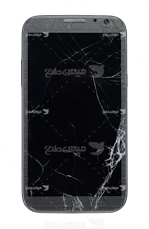 عکس شکستن موبایل