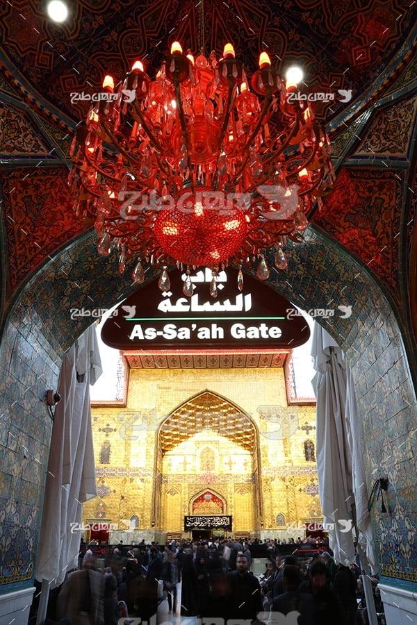 عکس درب ورودی حرم مطهر امام علی (ع)
