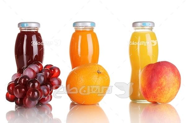 عکس میوه و اب میوه