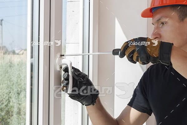 نصب پنجره