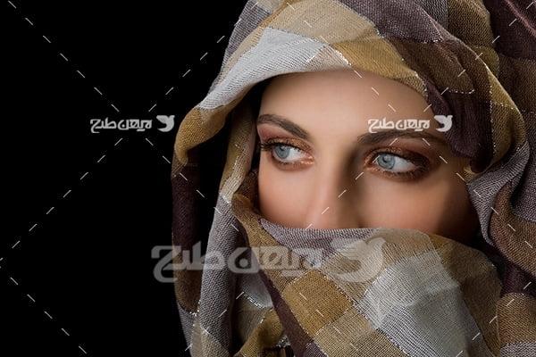 عکس خانم باحجاب