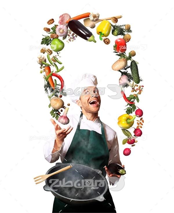 آشپز و مرکبات غذایی