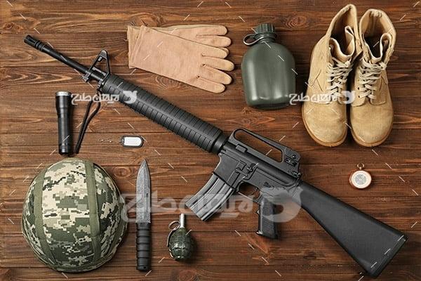 وسایل لباس نظامی و سرباز