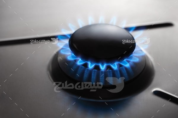 عکس شعله گاز