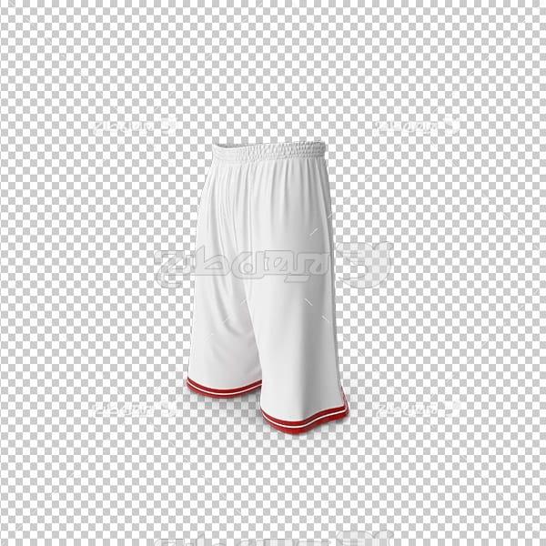تصویر دوربری سه بعدی لباس بسکتبال