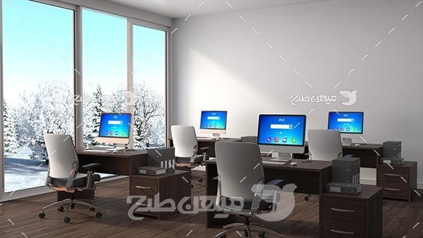 عکس اتاق کامپیوتر