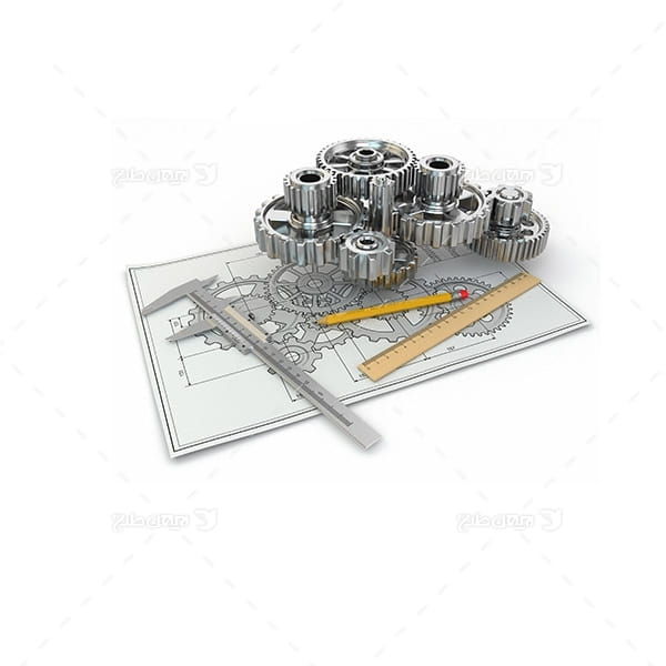 تصویر صنعتی از چرخ دنده