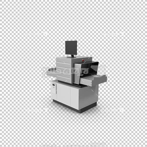 تصویر سه بعدی دوربری دستگاه اسکنر و فتوکپی