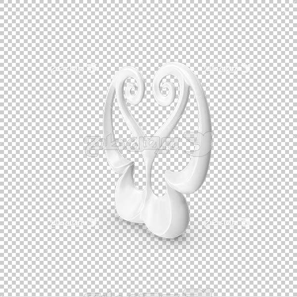 تصویر سه بعدی دوربری مجسمه