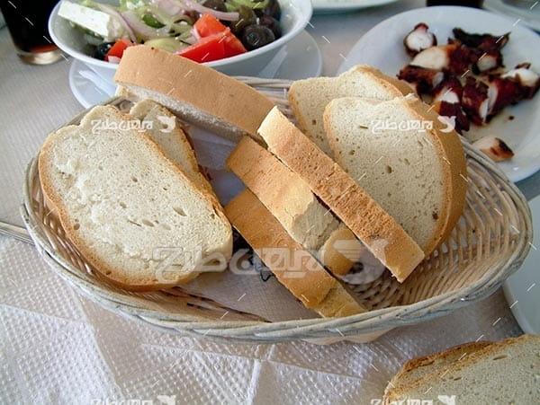 تصویر با کیفیت از نان توست