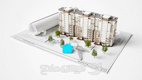 نقشه ساختمان