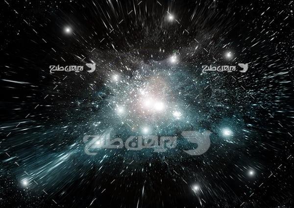 عکس ستاره ها در فضا