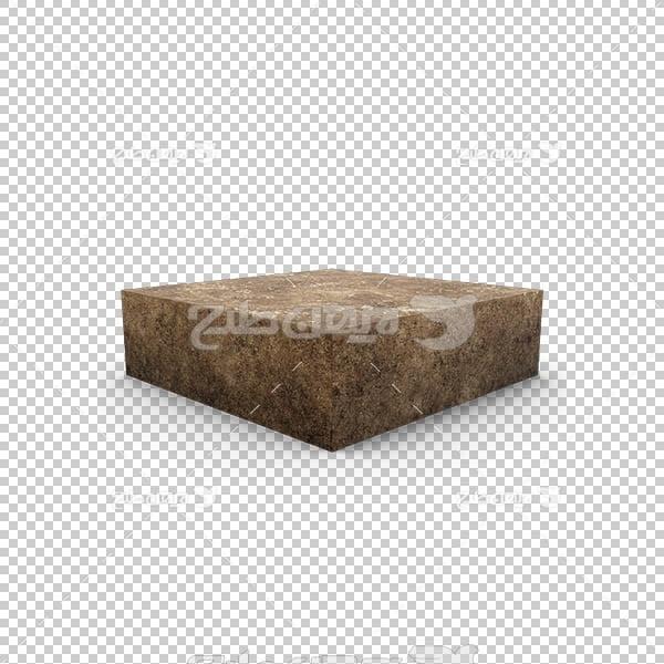 تصویر سه بعدی دوربری سنگ و خاک