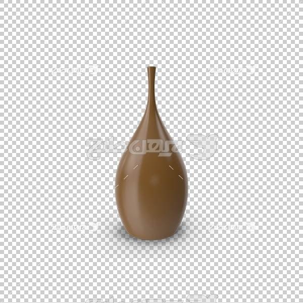تصویر سه بعدی دوربری گلدان