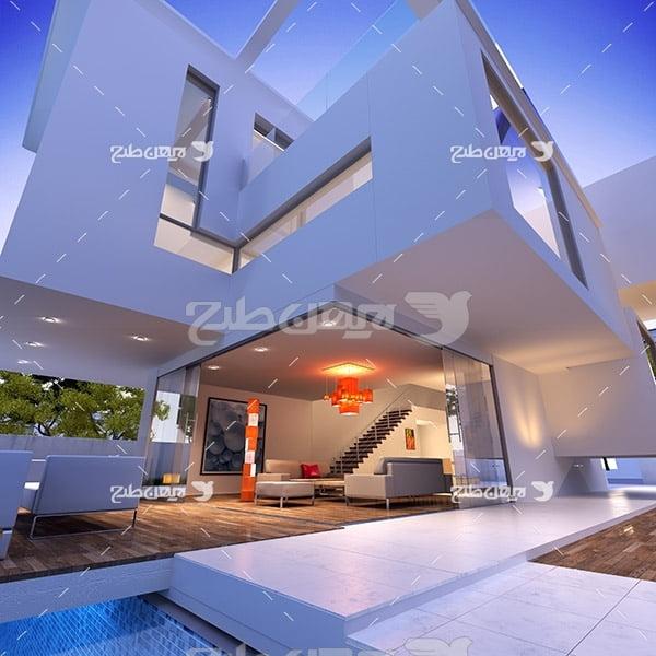 عکس دکور داخلی خانه ویلایی