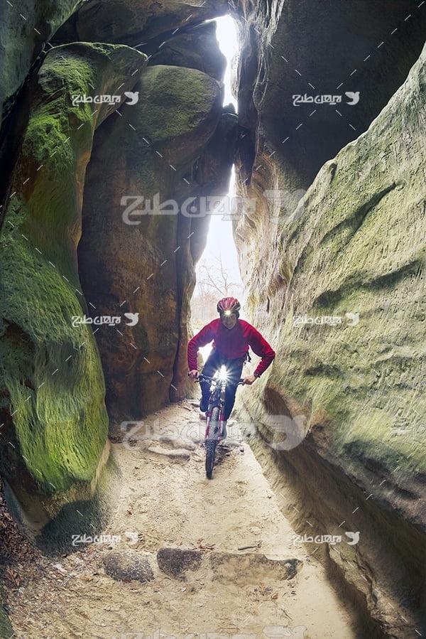 عکس دوچرخه سواری