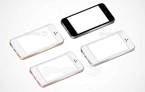 وکتور موبایل آیفون 5