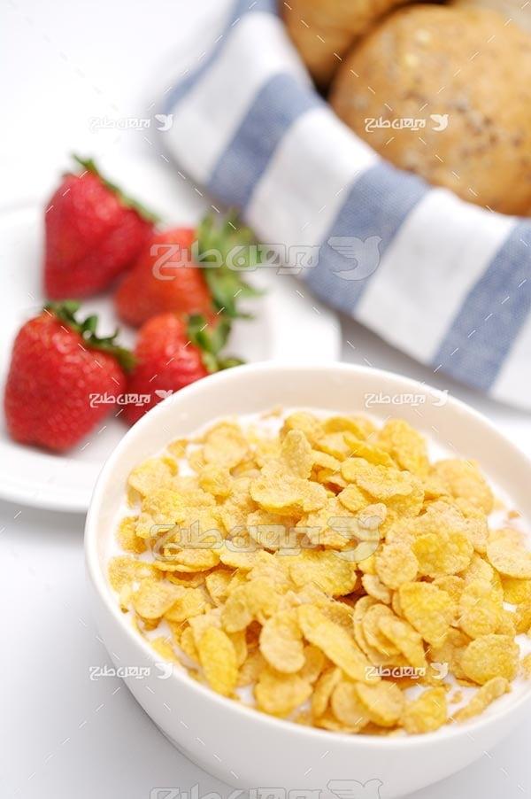 تصویر با کیفیت از صبحانه مقوی