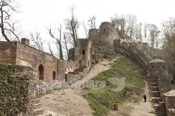 عکس قلعه رود خان شهر فومن در استان گیلان