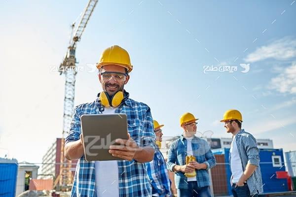 مهندس و کارگر