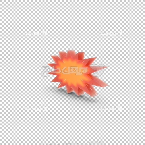 تصویر سه بعدی دوربری انفجار