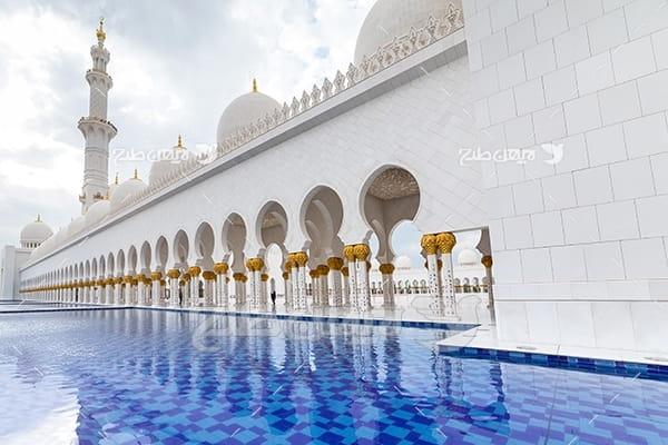 عکس مذهبی مسجد در مدینه