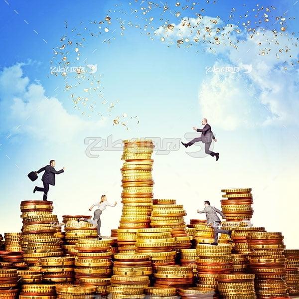 سکه، انسان و پیشرفت مالی