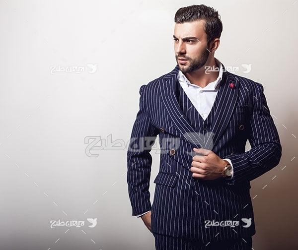 عکس مدل مرد و انسان