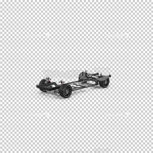 تصویر دوربری سه بعدی بدنه ماشین