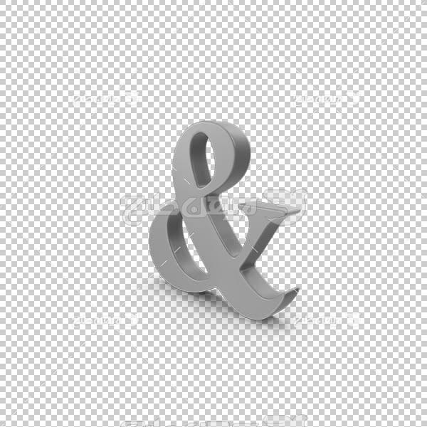 تصویر سه بعدی دوربری علامت نوشتاری و