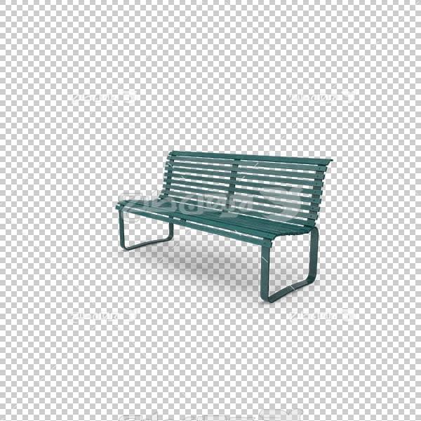 تصویر سه بعدی دوربری صندلی پارک