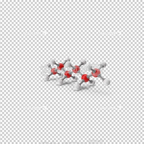 تصویر دوربری سه بعدی مولکول