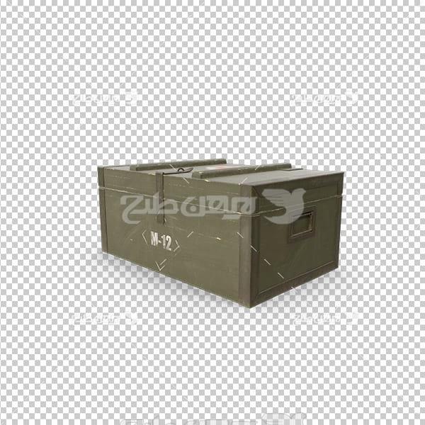 تصویر دوربری سه بعدی جعبه