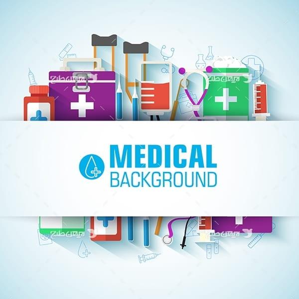 وکتور با موضوع پزشکی و درمان