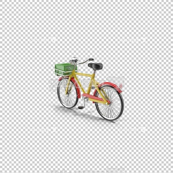 تصویر سه بعدی دوربری دوچرخه